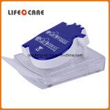 Distributeur de papier de note de promotion avec le support de clip