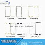 iPhone LCD 더하기 iPhone 4G 4s 5 5g 5c 5s 6 6을%s 3m 접착제를 가진 정면 접촉 스크린 플라스틱 중앙 날의 사면 프레임을%s
