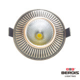 7W DEL enfoncée par bronze rouge Downlight