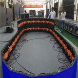 Exhibición de LED de interior curvada P4 del alquiler del diseño del Lm