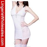 Chemise шнурка V-Шеи Ravising женское бельё отвесного флористического сексуальное для женщин