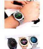 Intelligente Uhren K89 rundes Bluetooth Smartwatch für androides Telefon und ISO iPhone mit Puls-Monitor