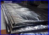 Bâche de protection noire de PE avec de la mousse/couverture concrète architecturale