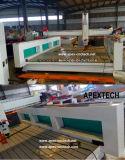 Ranurador de madera del CNC de la espuma de la escultura económica del molde 3D