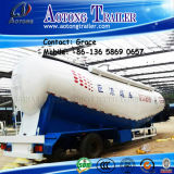 Aotong Tri-Axle 40 Tons 60tons 80tons Dry Bulk Cement Powder Tanker Semitrailer, Cement Bulker Carriers Truck Trailers mit Air Compressor