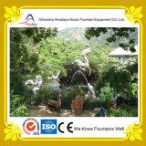 Fontaine artificielle de syndicat de prix ferme de paysage avec les statues de marbre