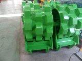 Compressor da roda dos acessórios da máquina escavadora, compressor da placa