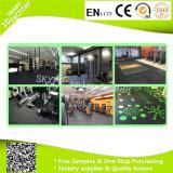 Mattonelle di pavimentazione di gomma di ginnastica doppia impermeabile di Crossfit