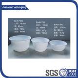 Zwei Farben-Seiten-Wegwerfrunder Nahrungsmittelfilterglocke-Plastikbehälter