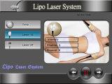 Recentemente 4 em 1 cavitação RF da máquina do laser Cryolipolysis de Cryotherapy Lipo que Slimming o laser Lipo da máquina