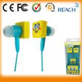 Trasduttore auricolare stereo del Mobile MP3 della fabbrica dei trasduttori auricolari del fumetto