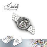 Het Kristal van de Juwelen van het lot van Kleurrijk Horloge Swarovski