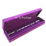 Пурпуровая коробка индикации упаковки ювелирных изделий подарка бумаги картона Jy-Jb167