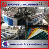 Maquinaria plástica para a placa da onda do PVC