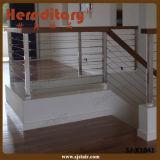 バルコニー(SJ-H026)のための屋外デザインステンレス鋼のRob棒柵