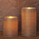 As velas Flameless da coluna do diodo emissor de luz das HOME e dos jardins Scented