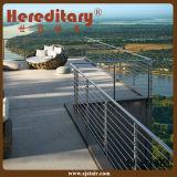 Corrimano dell'acciaio inossidabile di esterno 304 per il balcone (SJ-H1354)