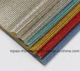 Wärmeübertragungrhinestone-Ineinander greifenkristallrhinestone-Netz-Ineinander greifen (TM-101 3mm Stein)
