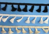 カーテンおよび装飾のための高品質のふさのフリンジのレース