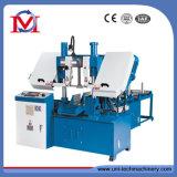 Machine de Sawing horizontale de bande de colonne de système de commande numérique par ordinateur double (GHS4228)