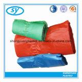 Sacs en plastique colorés estampés recyclables faits sur commande de T-shirt pour des achats
