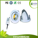 30W rotativo Dimmable 4-Way LED Downlight CE&RoHS aprobado