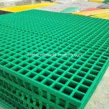 Rejillas moldeadas fibra de vidrio/parrilla /Grating de GRP FRP para la industria y la decoración