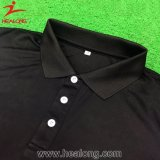 T-shirt de golf d'impression sublimé par mode de Healong