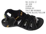 Numéro 51254 chaussures de santal de l'été des hommes de tailles importantes