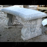 大理石のベンチ及び表の石造りのベンチ及び表の花こう岩のベンチ及び表の白いカラーラのベンチ及び表Mbt1153