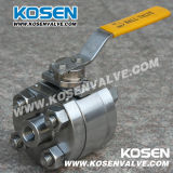 3PC Forged Steel Ball Valve (Q61F)