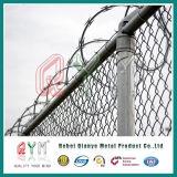Rete fissa a fisarmonica del rete fisso dell'aeroporto/del rasoio del filo/collegare a fisarmonica di obbligazione