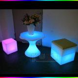 Taburetes mágicos de la estera LED del cubo con la estera