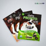 Алюминиевый полиэтиленовый пакет PE застежки -молнии для чая заедк гайки еды