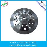 Schleifscheibe-Karosserie CNC-maschinell bearbeitenteile, das Metall, das Teile aufbereitet, CNC bearbeiteten Teile maschinell