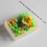 [بلستيك بوإكس] يحزم مسطّحة إنحناء شكل متعدّد لون [40مّ] بلاستيكيّة يخيط رأس [بين]