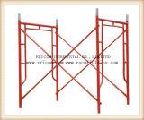 De veilige SGS Gekwalificeerde Steiger van het Frame, het Systeem van de Steiger van het Frame, het Frame van de Steiger