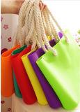 Sac bon marché de plage de silicones de la vente 2015 chaude, sac de silicones, sac d'emballage de silicones