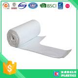 Bolso de basura en el papel