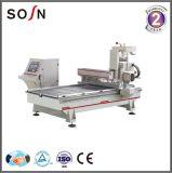 Eine Hauptholzbearbeitung-Maschinerie für die Möbel, die CNC-Fräser herstellen