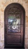 De buiten Decoratieve Volledige Ronde Hoogste Deuren van de Ingang van het Ijzer voor Huis