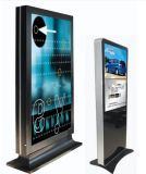 affissione a cristalli liquidi Player di 65inch Touch Advertizing