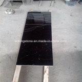 Мрамор Marquina дешевой поставкы карьера высокого качества цены китайский черный
