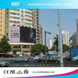 Schermo di visualizzazione di pubblicità fisso esterno del LED di colore completo P10 grande per il video che fa pubblicità all'alta risoluzione