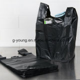 Мешка тенниски PE мешки отброса черного пластичные