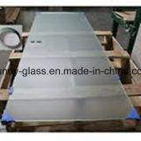 10-15mm lamelliertes Glas-Tür, kundenspezifischer Abmessungs-, transparenter und bereifter, Scharnier-und Schrauben-Unterbrecher