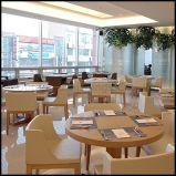 Reeks van het Meubilair van het Restaurant van de Stoel van de Eettafel van het hotel de Houten (SP-CS105)