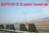 Torretta della trasmissione della sospensione di Megatro 500kv 5b1 Zb2
