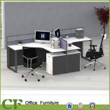 Tableau moderne L poste de travail de bureau de type de bureau de forme