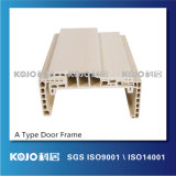 OEM/ODM ningún marco de puerta del formaldehído WPC para la puerta del espesor de 40m m (PM-115A)